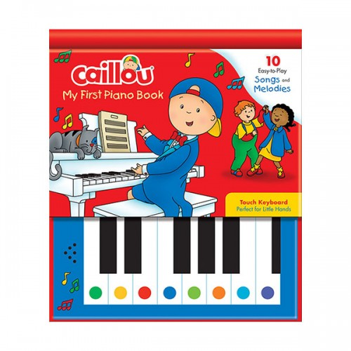 Caillou : My First Piano Book (Hardcover)