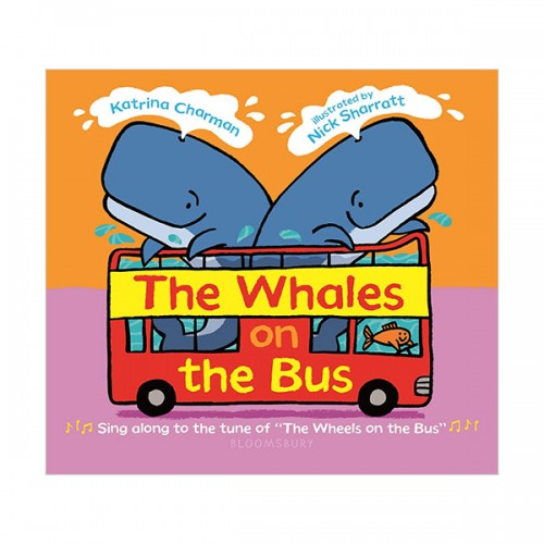 The Whales on the Bus (Board book)