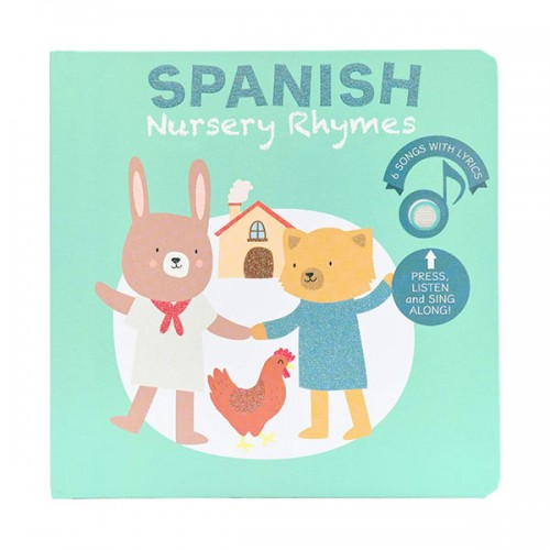 Spanish Nursery Rhymes (Board book, Sound book)
