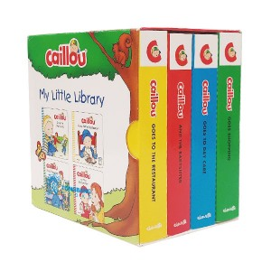 Caillou My Little Library (Board book)