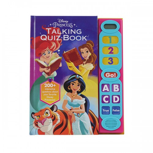 Disney Princess - Talking Quiz Sound Book (Hardcover, Sound Book)