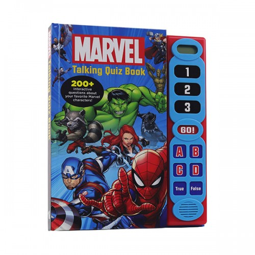 Marvel - Talking Quiz Book (Hardcover, Sound book)