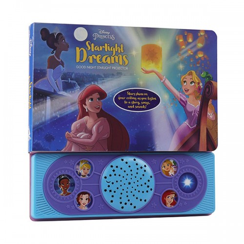 Disney Princess - Starlight Dreams Good Night Starlight Projector (Board book)