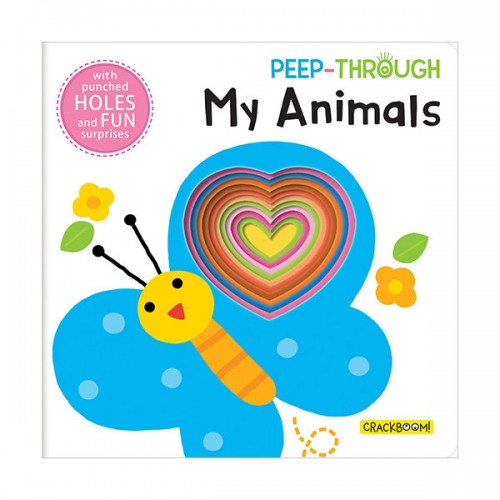 Peep Through ... My Animals (Board book)