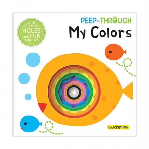 Peep Through ... My Colors (Board book)