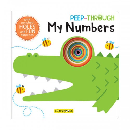 Peep Through ... My Numbers (Board book)