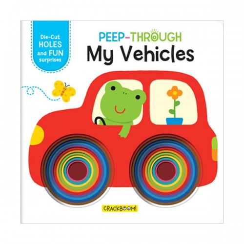 Peep Through ... My Vehicles (Board book)