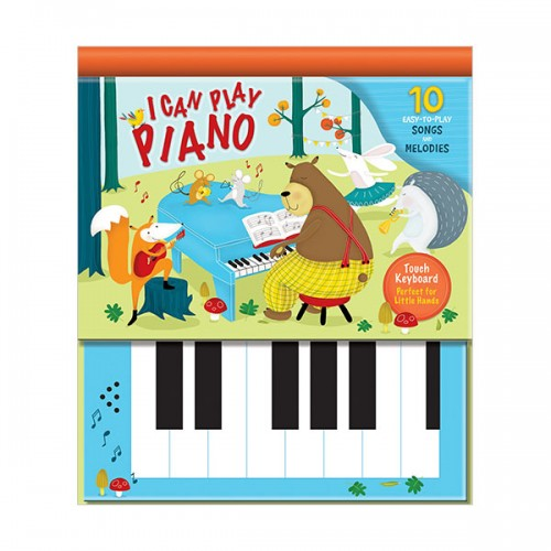 I Can Play Piano : 10 Easy-to-Play Songs and Melodies (Hardcover)
