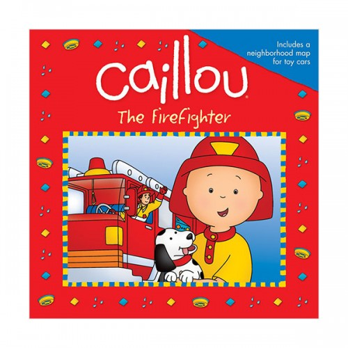 Caillou : The Firefighter (Paperback)