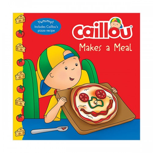 Caillou : Caillou Makes a Meal ((Paperback)