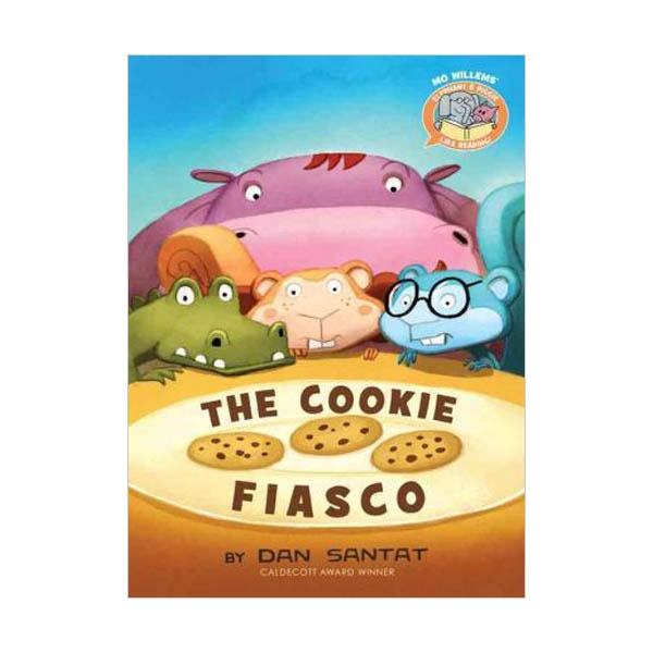 Elephant & Piggie Like Reading! The Cookie Fiasco (Hardcover)