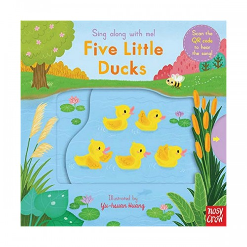 Sing Along With Me : Five Little Ducks (Board book, 영국판)