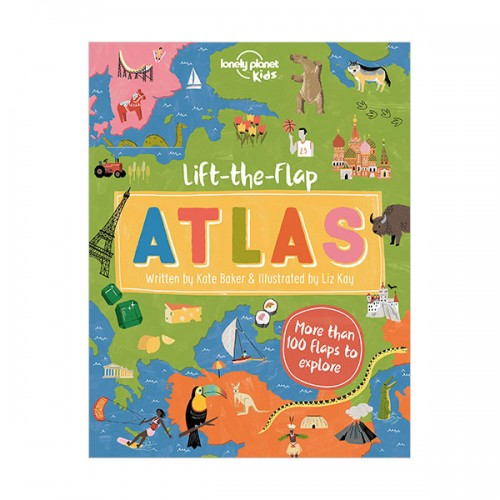 Lift-the-Flap Atlas (Hardcover)