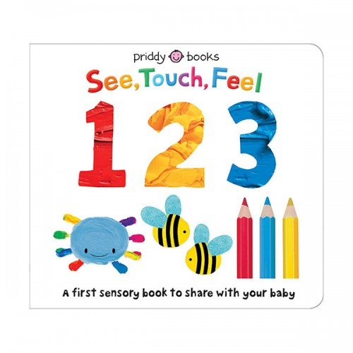 See Touch Feel : 123 (Board book)