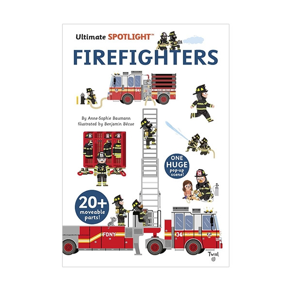 [베스트★] Ultimate Spotlight: Firefighters (Hardcover)