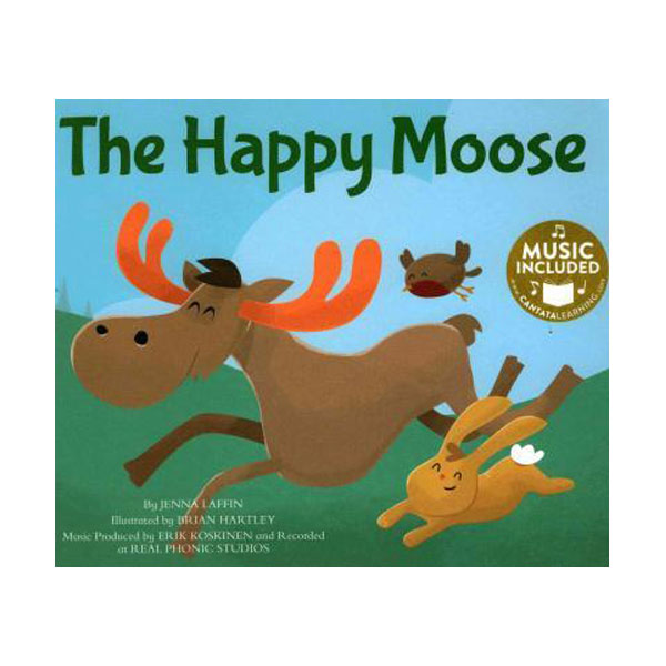 The Happy Moose (Paperback + CD)