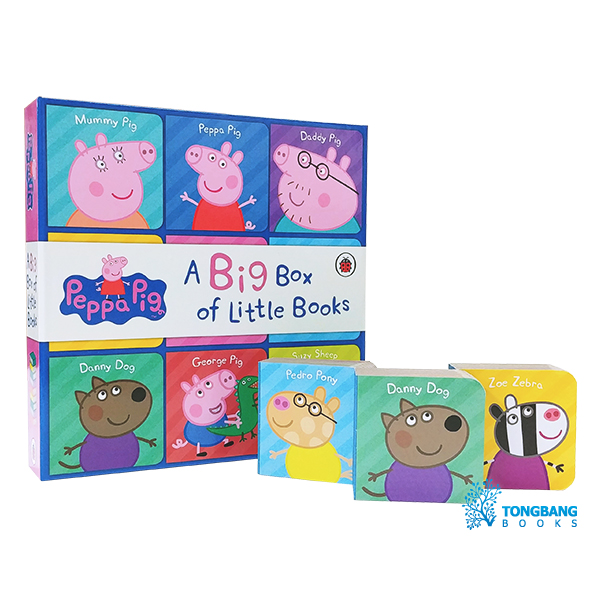 Peppa Pig : Big Box of Little Books (Board book, 영국판)
