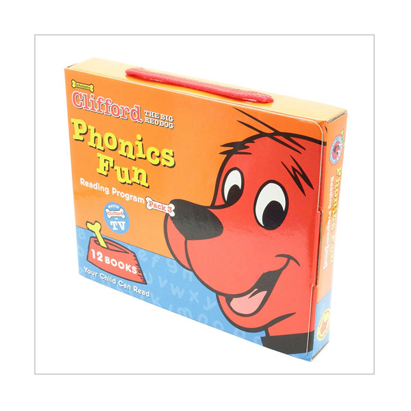 Clifford Phonics Box Set 3 (12 Books with CD)