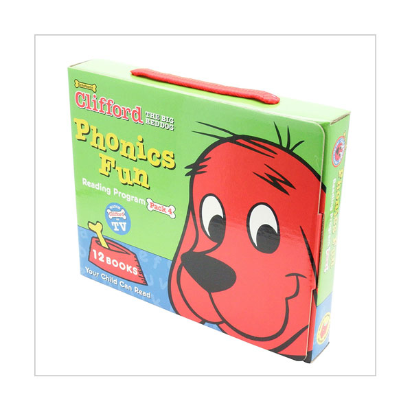 Clifford Phonics Box Set 4 (12 Books with CD)