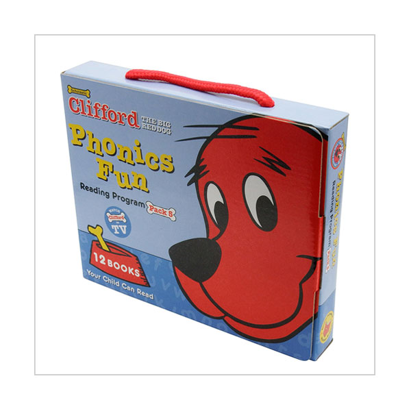 Clifford Phonics Box Set 5 (12 Books with CD)
