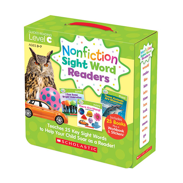 [스콜라스틱] Nonfiction Sight Word Readers Level C (26 Books + 1CD)