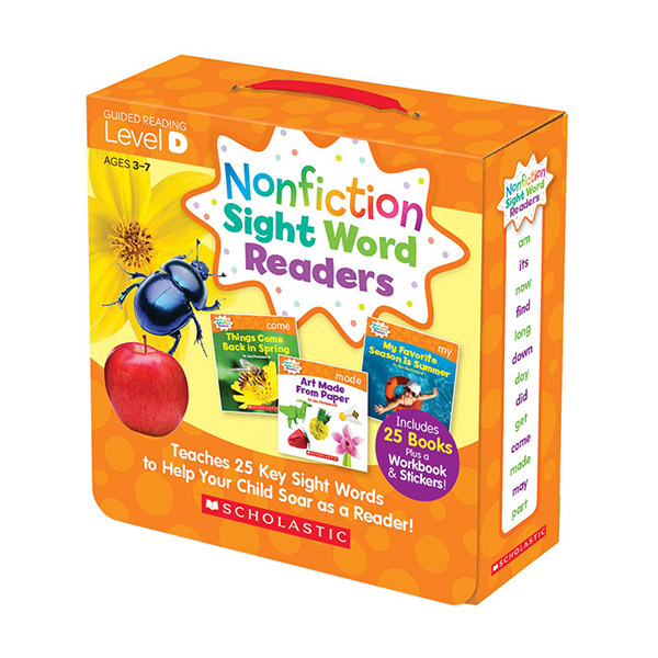 [스콜라스틱] Nonfiction Sight Word Readers Level D (26 Books + 1CD)