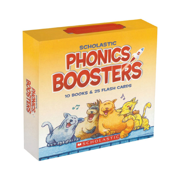 Phonics Boosters (Paperback 10권, flashcard 25장)
