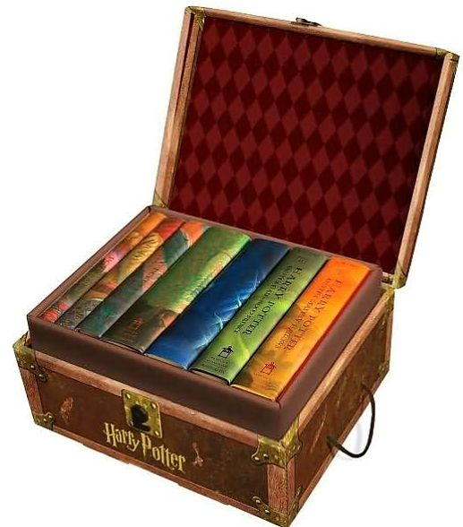 RL 5.5~7.2 : Harry Potter (해리포터) Hardcover Boxed Set : Books 1-7 (Hardcover)