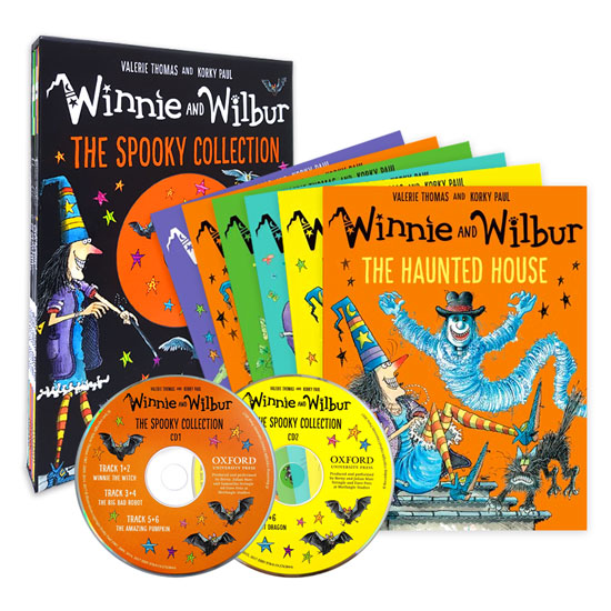 Winnie and Wilbur : The Spooky Collection (Paperback 6권 + Audio CD 2장)