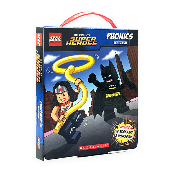 LEGO DC Super Heroes Phonics Boxed Set #2 (Paperback, 12권)(CD없음)