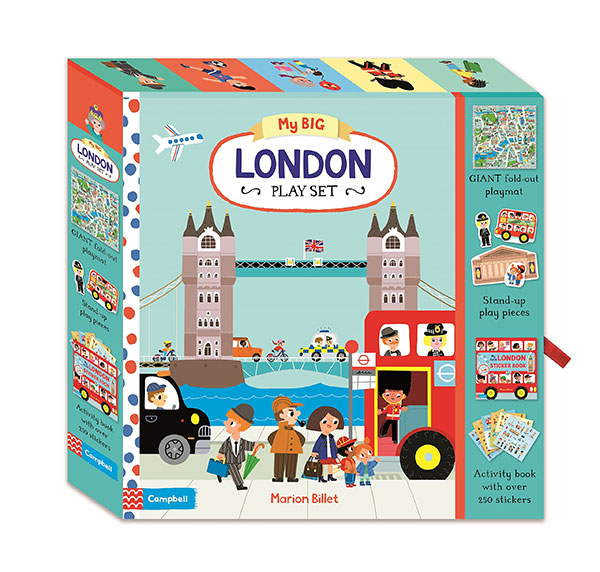 My Big London Play Set (Paperback)