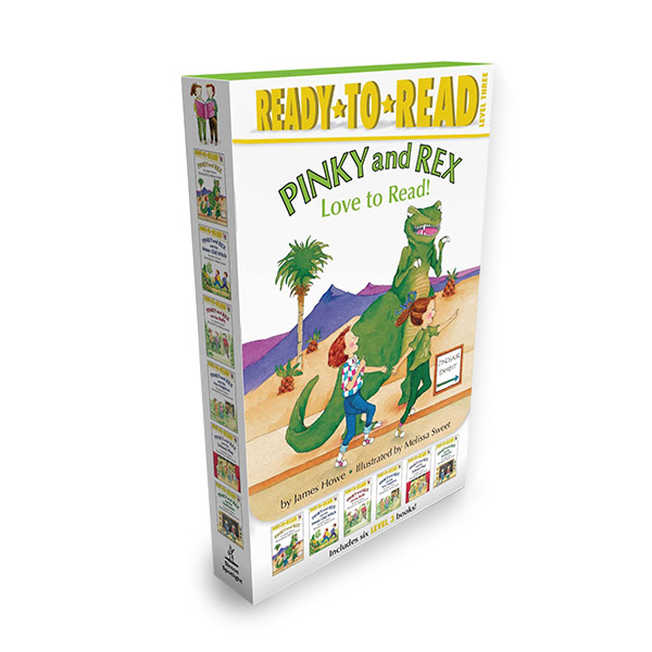 Ready to Read 3 : Pinky and Rex Love to Read! 6 Books Boxed Set (Paperback, 6종)