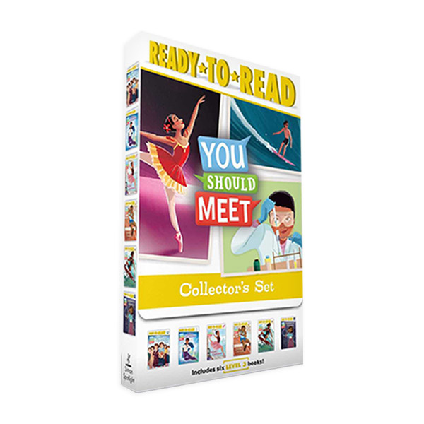 Ready To Read 3 : You Should Meet Collector's 6 Books Boxed Set (Paperback, 6권) (CD미포함)