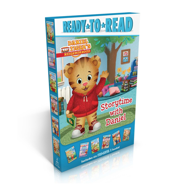 RL 1.1~1.4 : Ready To Read Pre-Level : Storytime with Daniel Collection Boxed Set (Paperback, 6권)