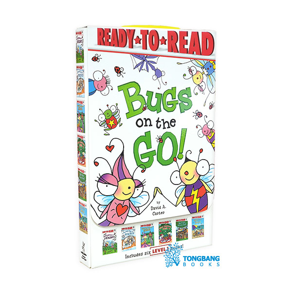 Ready to Read 1 : Bugs on the Go! 6 Books Boxed Set (Paperback, 6종) (CD미포함)