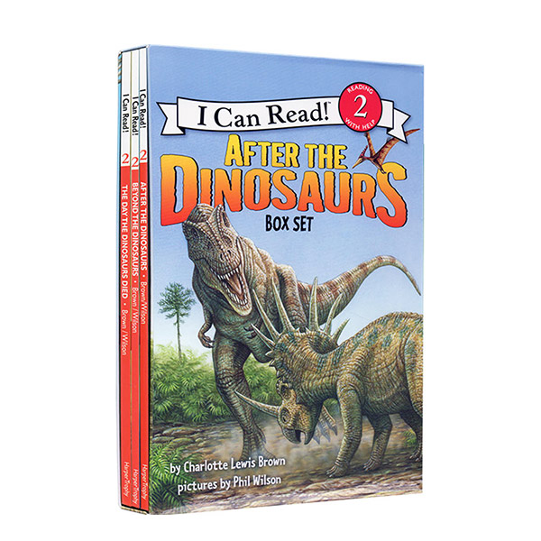 I Can Read Level 2 : After the Dinosaurs 리더스 3종 Box Set (Paperback)(CD없음)