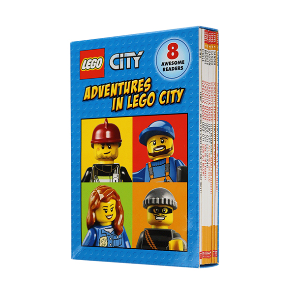 Scholastic Level 1 : LEGO City : Adventures in LEGO City Reader Boxed Set (Paperback, 8권)