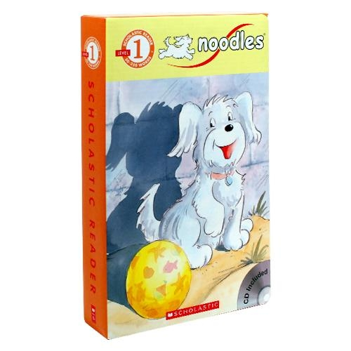 Scholastic Reader Level 1 : Noodles 10 Book Box Set (Book&CD, 10권)