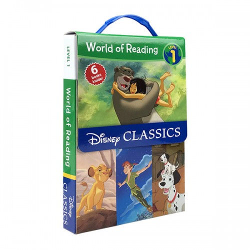 World of Reading Level 1 : Disney Classic Characters Boxed Set (Paperback) (CD미포함)