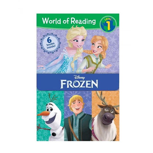 World of Reading Level 1 : Frozen Boxed Set (Paperback, 6권)