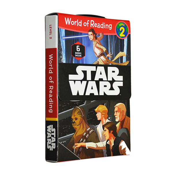 World of Reading Level 2 : Star Wars 리더스 6종 Box Set (Paperback)(CD없음)