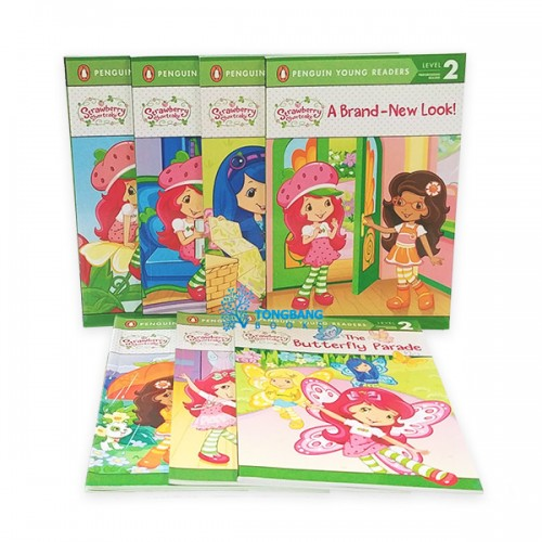 Penguin Young Readers Level 2 : Strawberry Shortcake 시리즈 리더스북 8종 세트 (Paperback)