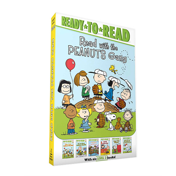 Ready To Read 2 : Read with the Peanuts Gang 6종 세트 (Paperback) (CD미포함)