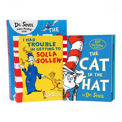 RL 2.1~4.4 : Dr. Seuss[닥터수스] Readers Book Yellow 17종 세트 (Paperback)