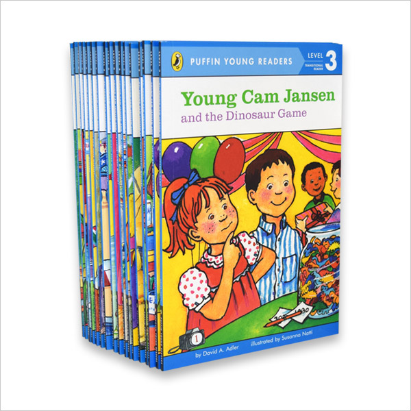 [베스트★] Penguin Young Readers Level 3 : Young Cam Jansen 리더스 19종 세트 (Paperback)(CD없음)