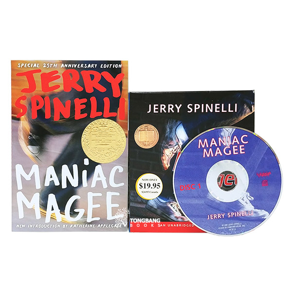 Maniac Magee Book & CD 세트 (Book&CD, Newbery)