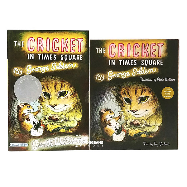 The Cricket in Times Square Book & CD 세트 (Book&CD, Newbery)