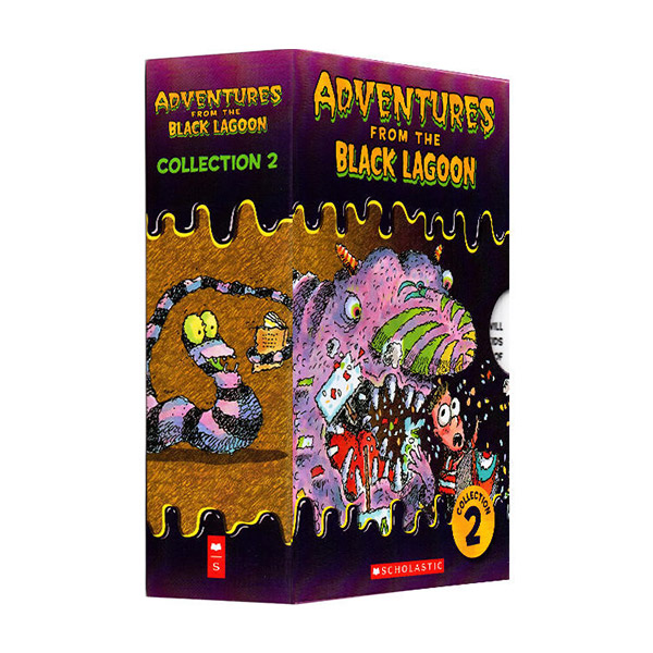 Adventures from the Black Lagoon Collection 2 : #11-20 챕터북 Box Set (Paperback)(CD없음)