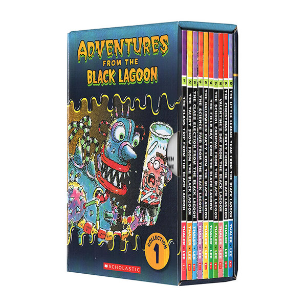 Adventures from the Black Lagoon Collection 1 : #01-10 챕터북 Box Set (Paperback)(CD없음)