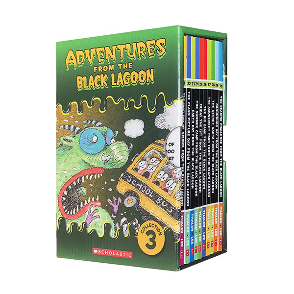 Adventures from the Black Lagoon Collection #03 : #21-30 챕터북 Box Set (Paperback)(CD없음)